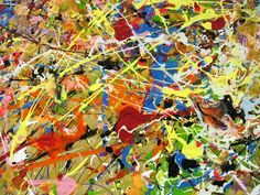 Where is Action Painting Today ? The Heritage of Jackson Pollock . Action Painting, Drip Painting, Oil Painting Abstract, Abstract Canvas, Jackson Pollock Artwork, Pollock Paintings, Oil Paintings, Original Paintings, Abstract Art Images