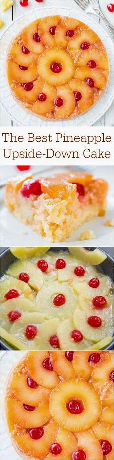 Google+ Averie Sunshine Shared publicly  -  Yesterday 8:12 PM  #Recipe       The Best Pineapple Upside-Down Cake - So soft, moist & really is The Best! A cheery, happy cake that's sure to put a smile on anyone's face!