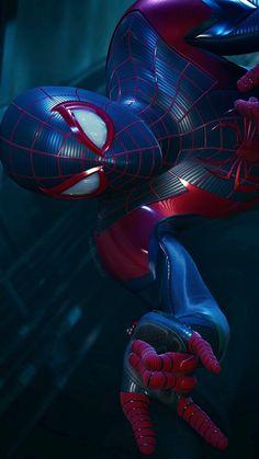 Miles Spiderman, Miles Morales Spiderman, Black Spiderman, Spiderman Art, Amazing Spiderman, Iron Man Wallpaper, Marvel Wallpaper, Marvel Art, Marvel Heroes