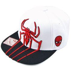 Marvel Spiderman Snapback Hat White New Era Snapback, Snapback Hats,  Spiderman Outfit, Marvel b3c8601b3fa7