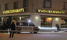 The restaurant in Imatra, Finland, where the killings took place