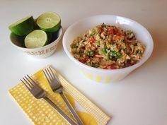 Thai quinoa salad - Oh So Lovely Recipe