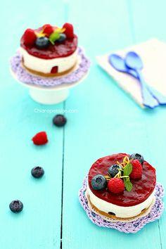 Cheesacake senza cottura da declinare in versione vegan.