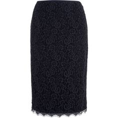 Basler Lace Pencil Skirt ($280) ❤ liked on Polyvore featuring skirts, navy, women, lace pencil skirt, navy lace skirt, navy skirt, navy blue pencil skirt and blue pencil skirt