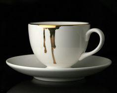 Drip Teacup by Reiko Kaneko