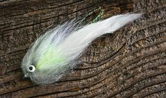 Garner's White Trash Bass Fly - bet they hit that like no one's business!