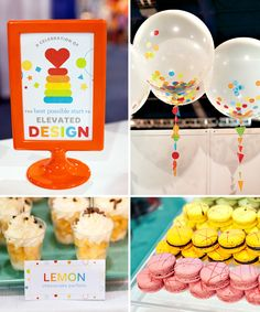 A Colorful, Toy Inspired Cocktail Party for Fisher Price Hostess with the Mostess