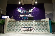 Hornets Executive Office reception on Behance