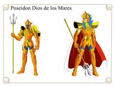 Poseidon Dios de los Mares by Javiiit0