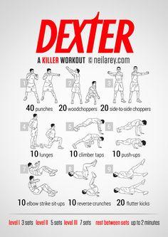 03.09.2014 - Dexter Workout by Neila Rey