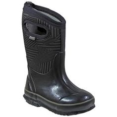 Bogs Classic Phaser Winter Boots - Boys Black Multi