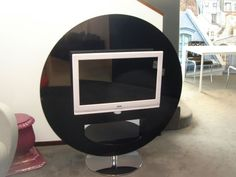 Altra Modern Bentwood and Glass TV Stand | Stuff for future ...