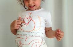 La maglietta del corpo umano - Lavoretti - Piccolini Barilla