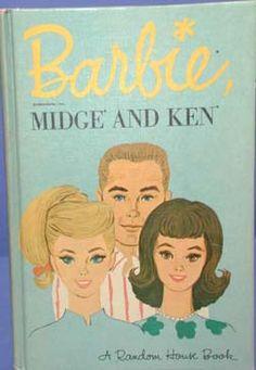 Barbie Ken And Midge Coloring Book