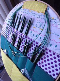 Got my new caspian knit picks set in my organizer,... | Stitch, please
