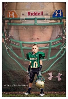 Football is a wonderful sport that has grown by leaps and bounds all over the world due to its popularity on television. Football Senior Pictures, Football Poses, Football Banner, Football Cheer, Youth Football, Sports Pictures, Senior Pics, Football Crafts, Football Season