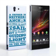 Caseflex Father Sail Quote Sony Xperia Z Case | Mobile Madhouse