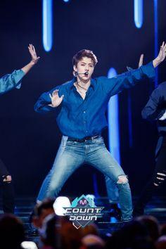 Sehun - 160829 Mnet M! Countdown Credit: Mnet. (엠넷 엠! 카운트다운)