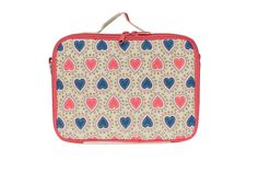 Honest Lunch Box in Confetti Hearts, collaboration with SoYoung #safe #insulated #delightful