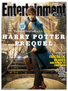 First look at Eddie Redmayne as Newt Scamander in Fantastic Beasts and Where to Find Them || Inside EW's magical cover