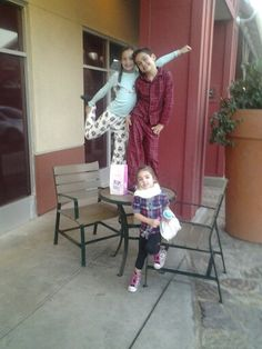 Cousins having  fun