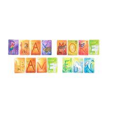 alphabet card game #novanatural