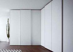 Novamobili Tempo Corner Sliding Door Wardrobe | Fitted Sliding Door Wardrobes