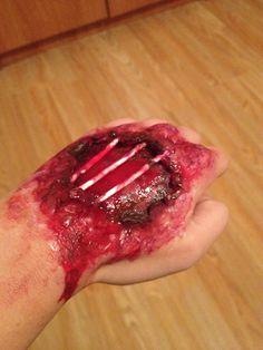 Halloween wound