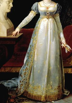 1806  INCREDIBLE DRESSES IN ART (120/∞) Pauline Bonaparte by Robert Lefèvre, 1806