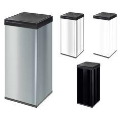 Hailo Big-Box 80 L Grossraum Abfallbox Touchdeckel Mülleimer Abfallsammler NEU | markenbaumarkt24