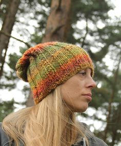 SHIVERING SHEEP BAGGY BEANIE WORN BY CLARE
