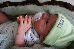 """Reborn baby boy or girl """"WILL"""" Natalie Scholl SOLD OUT LE ~Delta Dawn Mohair~"""