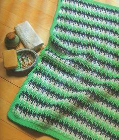 Crochet Bathroom Rug - Free Pattern
