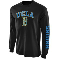 UCLA Bruins New Agenda Distressed Arch And Logo Long Sleeve T-Shirt - Black