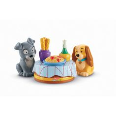 Fisher-Price Little People Disney Lady & the Tramp Play Set