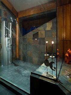 Log Home Bathrooms | Log Home Bathroom