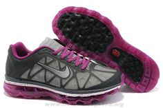 sale retailer 33566 497fa More and More Cheap Shoes Sale Online,Welcome To Buy New Shoes 2013 Womens Nike  Air Max 2011 Neutral Grey Anthracite Bold Berry Sneakers  New Shoes -  Womens ...