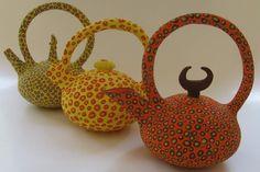 Dotty Teapots by The Pottery Studio - Bryanston