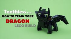 How To Build Your Dragon (Toothless) Lego Activities, Craft Activities For Kids, Cool Lego, Awesome Lego, Viking Party, Lego Dragon, Lego Guns, Lego Sculptures, Toothless Dragon