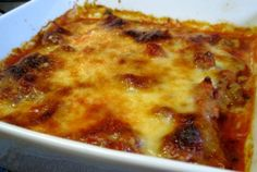 Dukan Diet Recipe Baked Pasta