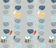 Jacks Beanstalk fabric by spellstone on Spoonflower - custom fabric