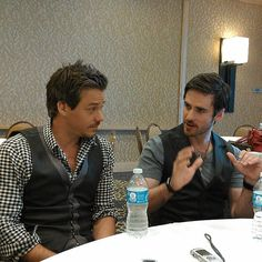 Colin O'donoghue... talking with his hands.. love it