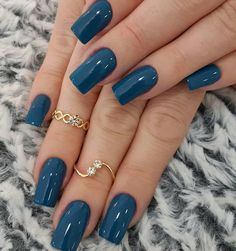 40 Top Amazing Gel Nail Art of 2019 - Makeup and Beauty - Nail Cute Nail Colors, Spring Nail Colors, Nail Polish Colors, Cute Nails, Color Nails, Nail Colours Winter, Cute Fall Nails, Cute Nail Polish, Bold Colors