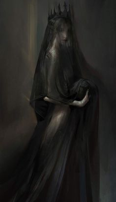 Everything mythology has recorded about Persephone is wrong. She is as shrouded . - Everything mythology has recorded about Persephone is wrong. She is as shrouded … – - Dark Fantasy Art, Fantasy Kunst, Dark Gothic Art, Fantasy Queen, Fantasy Artwork, Arte Horror, Horror Art, Hades Und Persephone, Character Inspiration