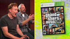 Clueless Gamer: Conan O'Brien testet GTA V