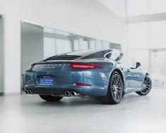 Porsche Exclusive Personalization Yachting Blue 991 Carrera S