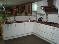 Trend This pretty little kitchen is made by Sigma and is from their Saponetta Range The