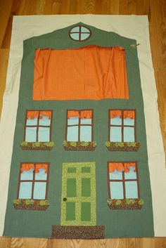 another puppet theater from Little Things to Sew! got to get this book!