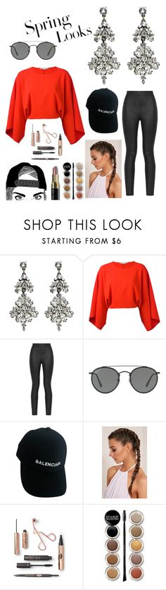 """A1"" by cecithestylespotter ❤ liked on Polyvore featuring Ben-Amun, STELLA McCARTNEY, Armani Jeans, Ray-Ban, Balenciaga, H&M, Giorgio Armani, Bobbi Brown Cosmetics and cecithestylespotter"