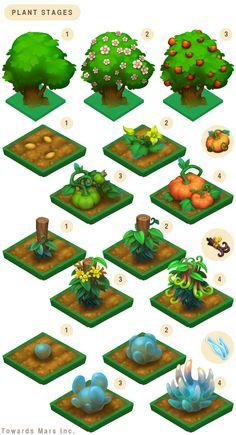 witchfarm project. props concept art by skyside.deviantart.com on @DeviantArt